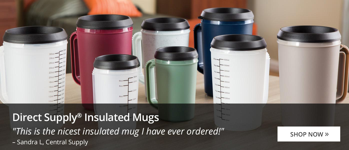 Direct Supply Insulated Mugs