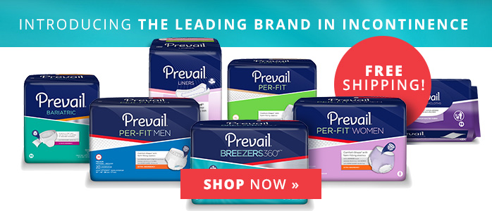 Introducing the leading brand in incontinence