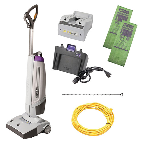Battery-Powered Upright Vacuums