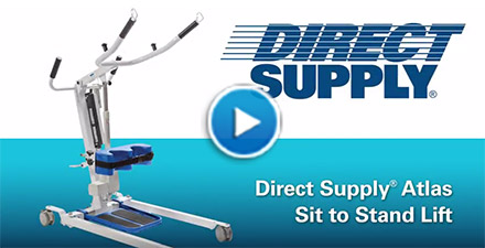 Direct Supply Atlas Sit-to-Stand Lift
