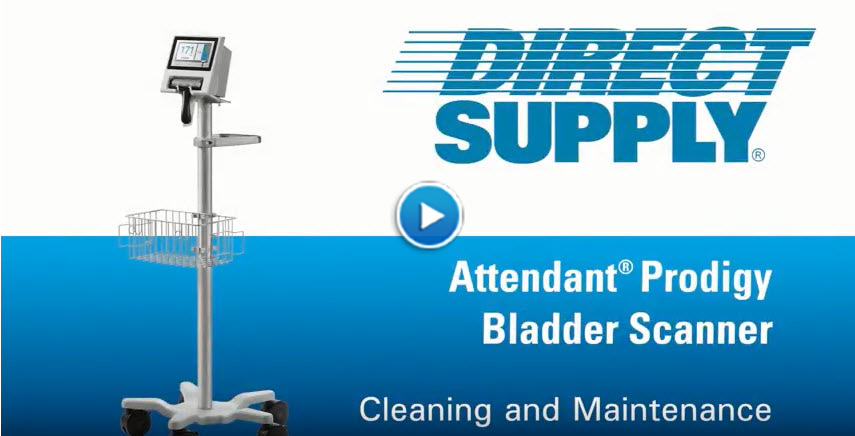 Attendant Prodigy Bladder Scanner - Cleaning & Maintenance