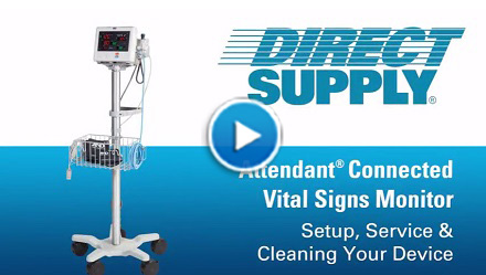 Attendant Vital Signs Monitor Set Up & Maintenance